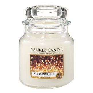 Yankee Candle Medium Jar - All Is Bright