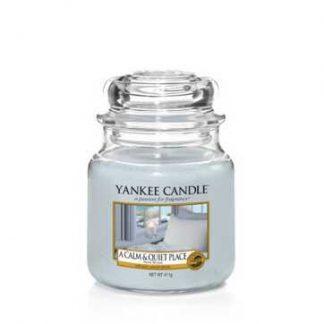 Yankee Medium Jar - A Calm & Quiet Place