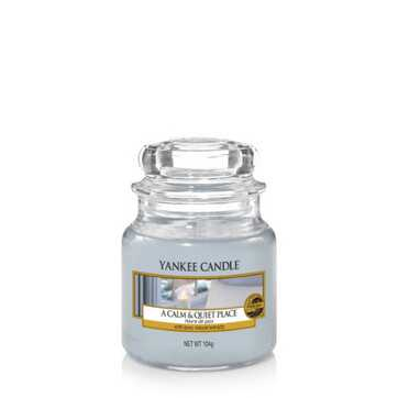 Yankee Small Jar - A Calm & Quiet Place