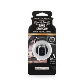 Yankee Smart Scent Vent Clip - Black Coconut