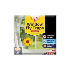 Zero In Window Fly Traps (Sunflower Design)