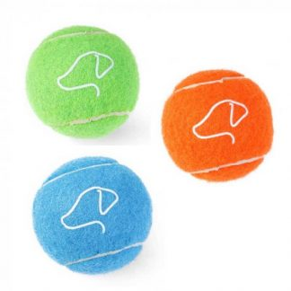 Zoon 6.5cm Pooch Tennis Balls - 3 Packs