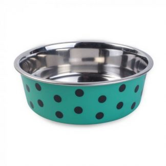 Zoon Bella Bowl - Green Polka Dots