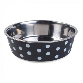 Zoon Bella Bowl - Navy Polka