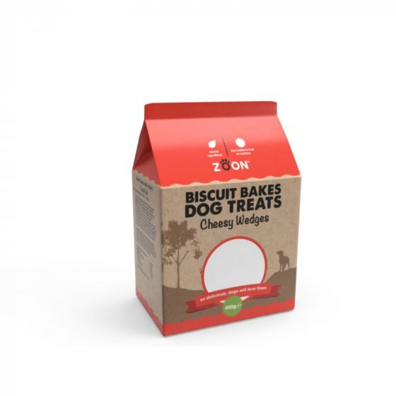 Zoon Biscuit Bakes - Cheesy Wedges 400g