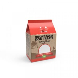 Zoon Biscuit Bakes Dog Treats - Yummy Bears 400g