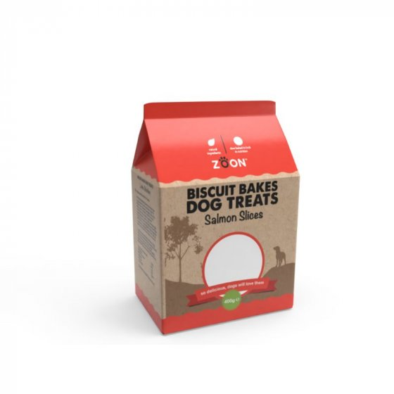 Zoon Biscuit Bakes - Salmon Slices 400g