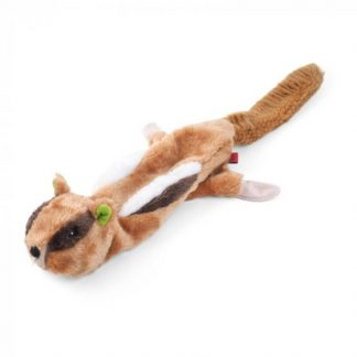 Zoon Chukker Chipmunk Dog Toy