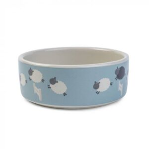 Zoon Counting Sheep Ceramic Bowl