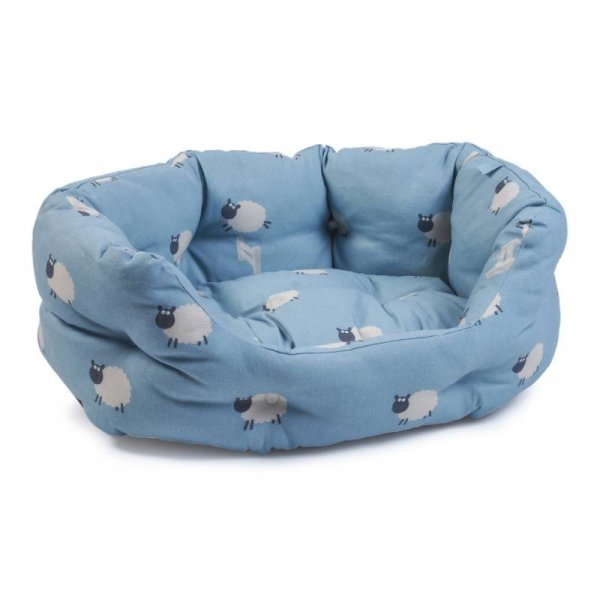 Zoon Counting Sheep Oval Pet Bed