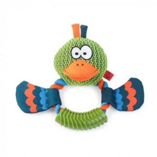 Zoon Dura Duck Ring Dog Toy