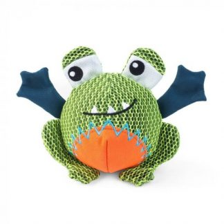 Zoon Dura Frog Dog Toy