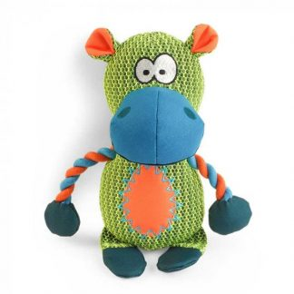 Zoon Dura Hippo Dog Toy