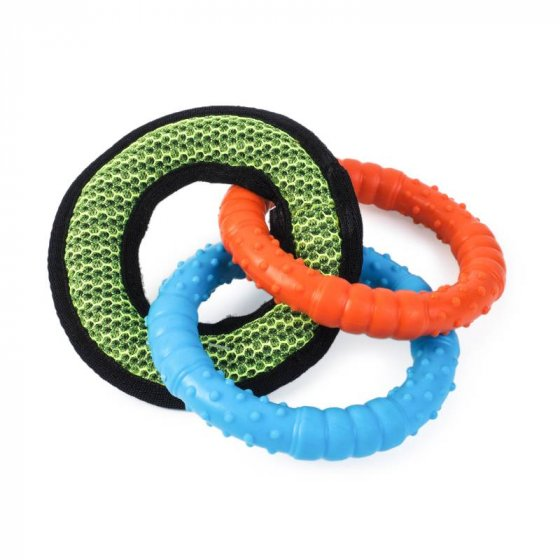 Zoon Dura-Tri Ring Dog Toy