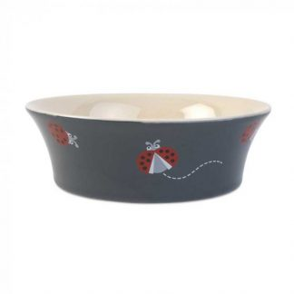 Zoon Flared Ladybirds Ceramic Bowl