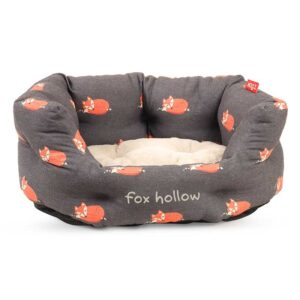Zoon Fox Hollow Oval Bed fur base
