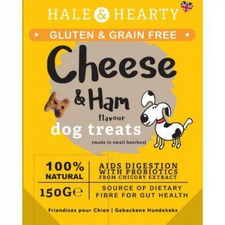 Zoon Hale & Hearty Ham & Cheese Grain Free Dog Treats