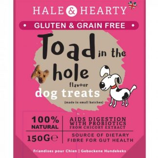 Zoon Hale & Hearty Toad in the Hole Grain Free Treats