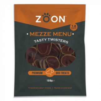 Zoon Mezze Menu Tasty Twisters Premium Dog Treats