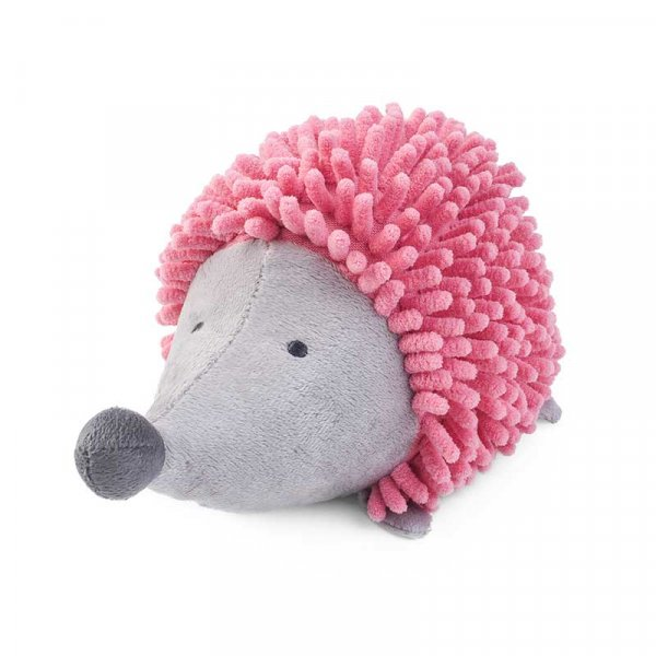 Zoon Miniplay Pink Noodly Hoglet Dog Toy