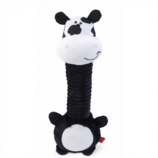 Zoon Necky Cow Dog Toy
