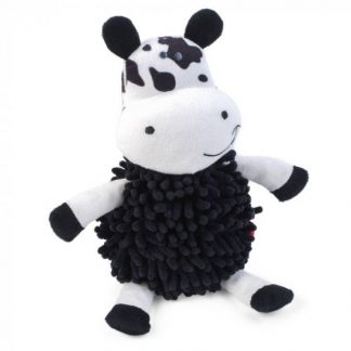Zoon Noodly Cow Dog Toy