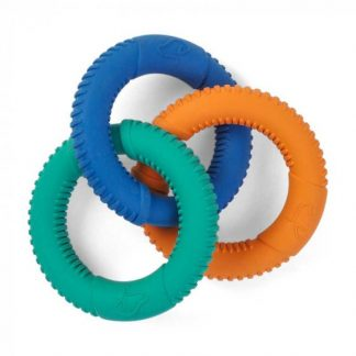 Zoon Rubber Dog Tri-Links