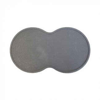 Zoon Rubber Feeding Mat Charcoal