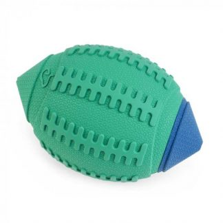Zoon Squeaky Rubber Rugger Dog Toy 13cm