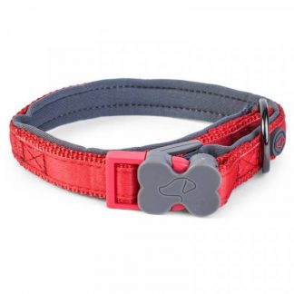 Zoon Uber-Activ Padded Dog Collar - Red