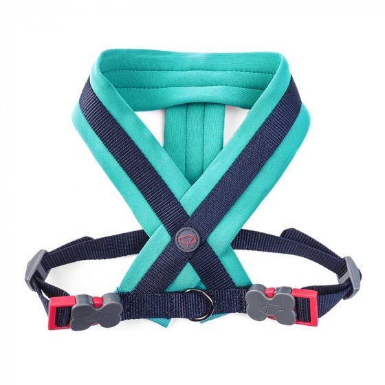Zoon Uber-Activ Padded Dog Harness - Navy