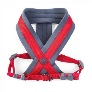 Zoon Uber-Activ Padded Dog Harness - Red