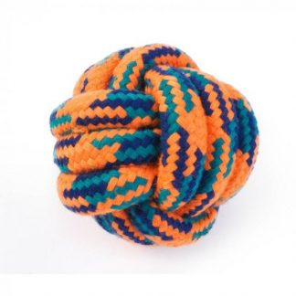 Zoon Uber-Activ Rope Ball