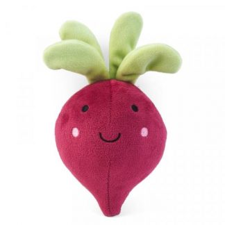 Zoon Veggie Beetroot Dog Toy