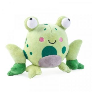 Zoon Veggie Frog Dog Toy