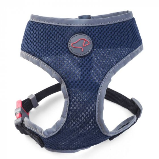 Zoon Walkabout Comfort Harness - Navy