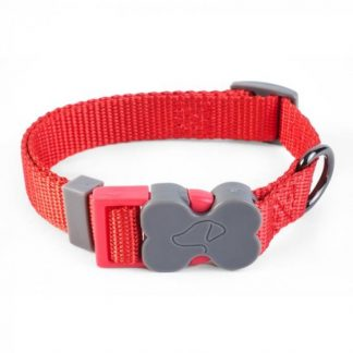 Zoon Walkabout Dog Collar - Red
