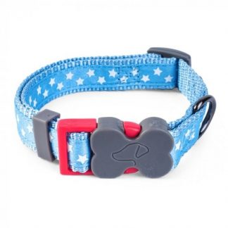 Zoon Walkabout Dog Collar - Starry Blue