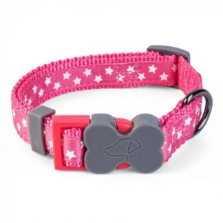 Zoon Walkabout Dog Collar - Starry Pink