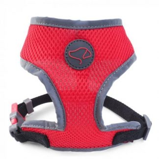 Zoon Walkabout Dog Comfort Harness - Red