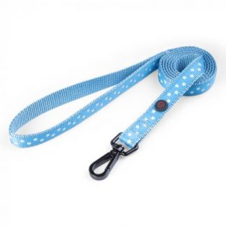 Zoon Walkabout Dog Lead - Starry Blue