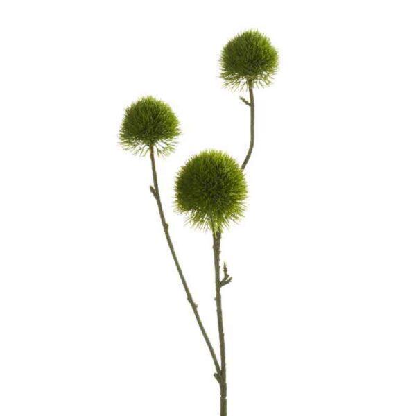 Green Dianthus Spray - 3 Heads (58cm)