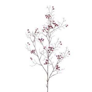 Burgundy Berries Spray (100cm)