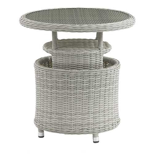 Bramblecrest Monterey Bistro Set Adjustable Table