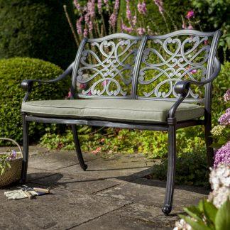 Hartman Capri Metal Garden Bench