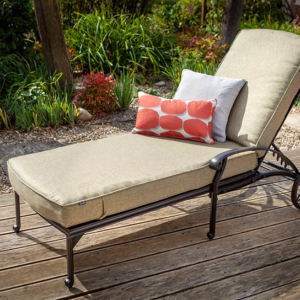Capri Lounger Bronze And Amber