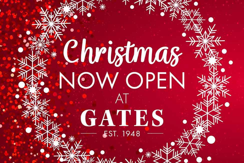 Christmas Now Open Split Web Banner