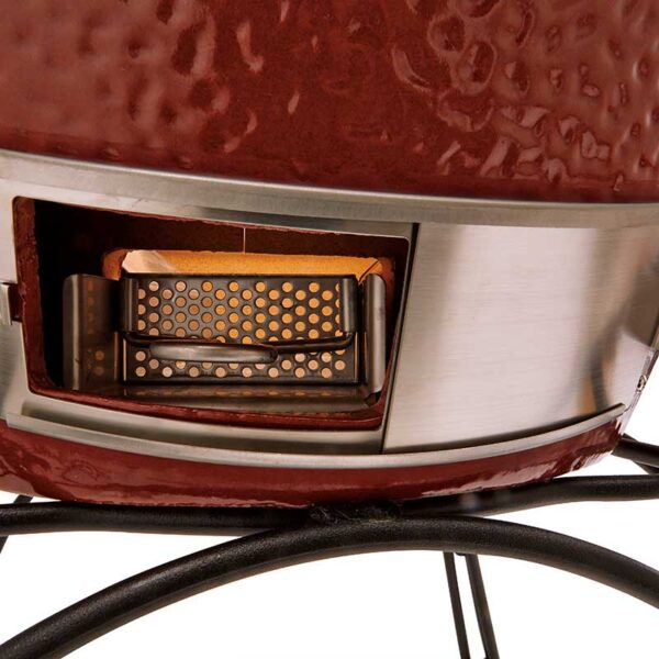 Kamado Joe Classic I Premium Ceramic Barbecue (Red) #KJ23RH (Slide-Out Ash Drawer)
