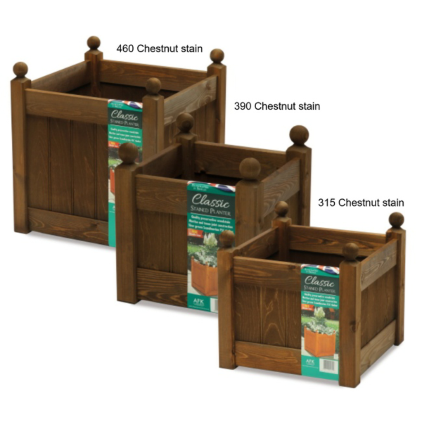AFK Classic Planters Chestnut Stain
