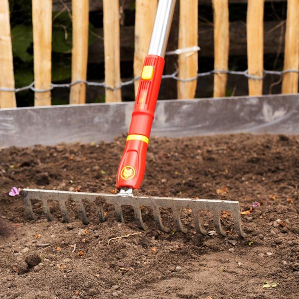 Wolf Garten Multi-Change Soil Rake 30cm